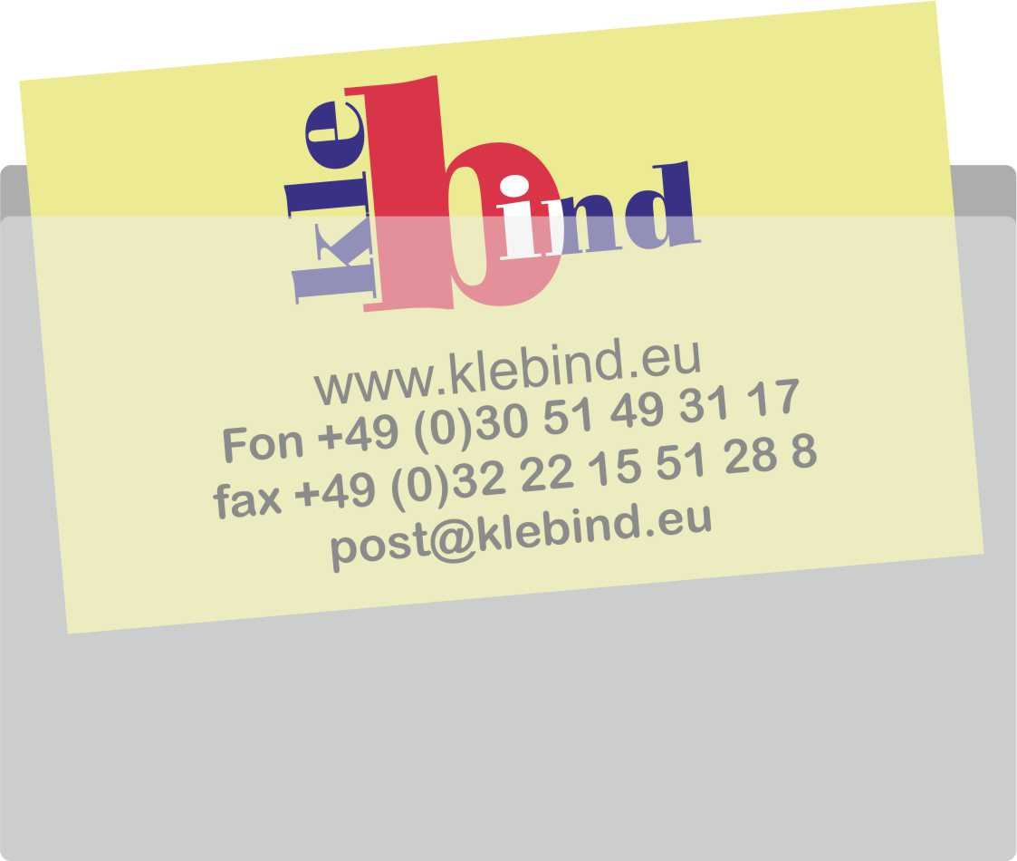 Visitenkarten Taschen 135 X 60